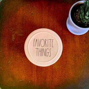 Rae Dunn FAVORITE THINGS Jewelry/Trinket Box NWT